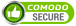 Protected by the COMODO PositiveSSL Certificate