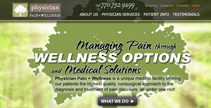 Physician Pain + Wellness